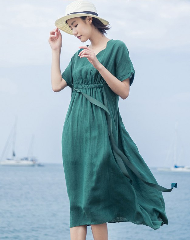Green Women's Dress