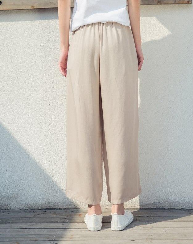 Beige Women's Pants