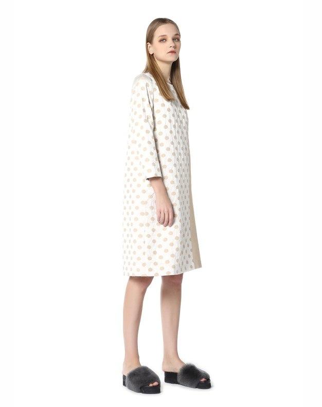 Others1 크롭 슬리브 펜슬 스커트 여성 드레스