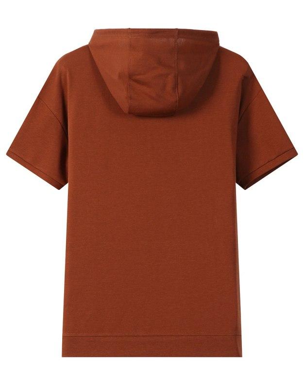 Double Layers Short Sleeve Men's T-Shirt