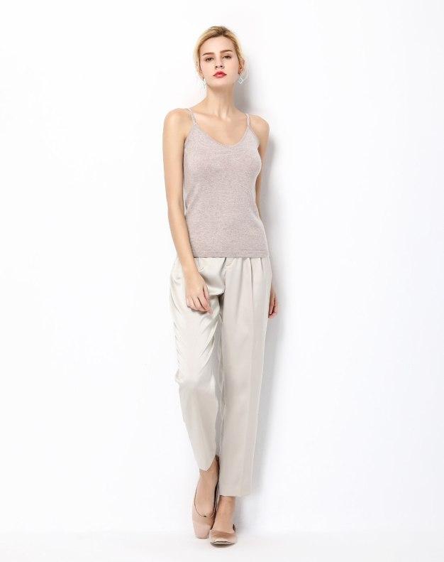 Cashmere Light Elastic Camisoles