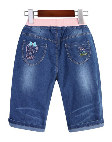 Blue Girls' Shorts