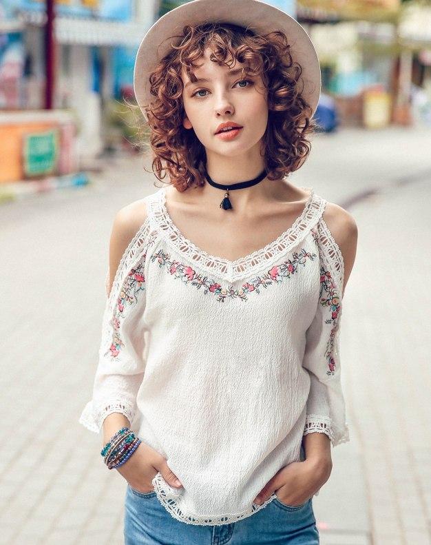 White Women's Shirt