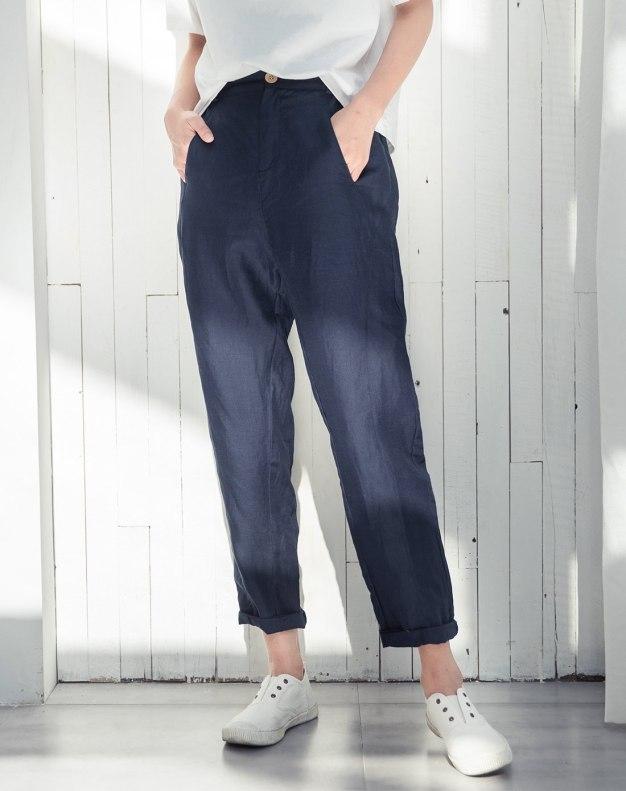 Indigo Long Women's Pants