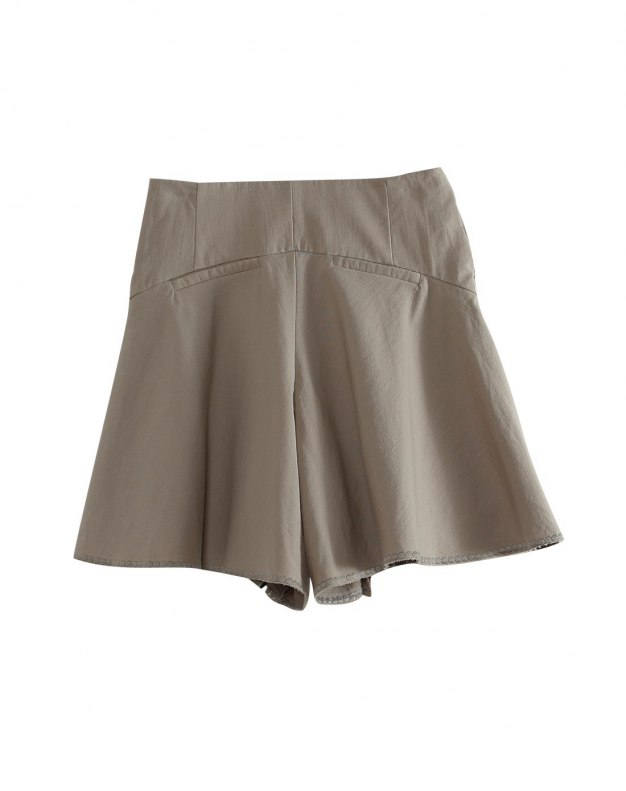Gray Short Women's Pants