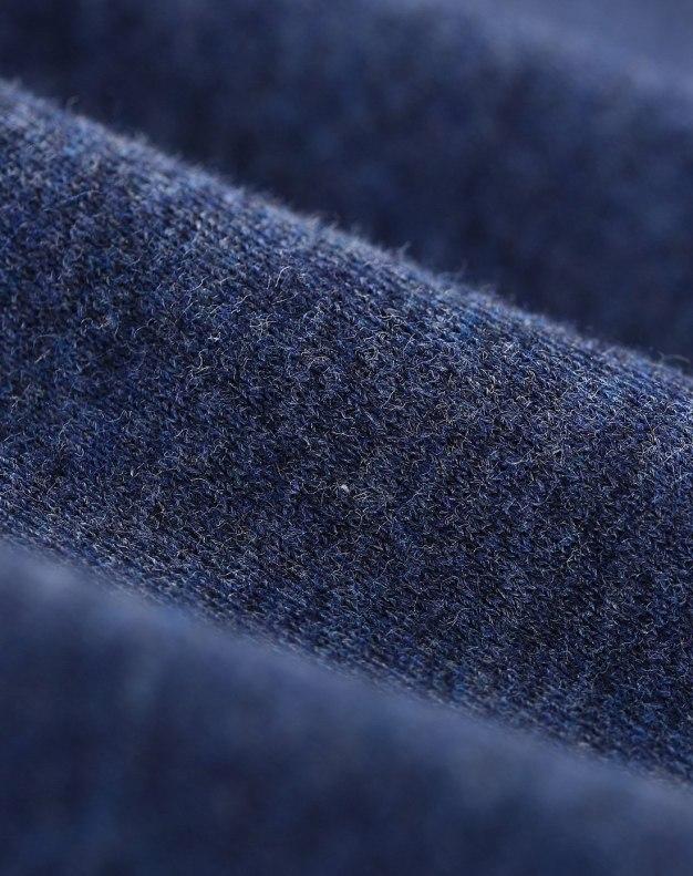 Blue Round Neck Standard Women's Cami