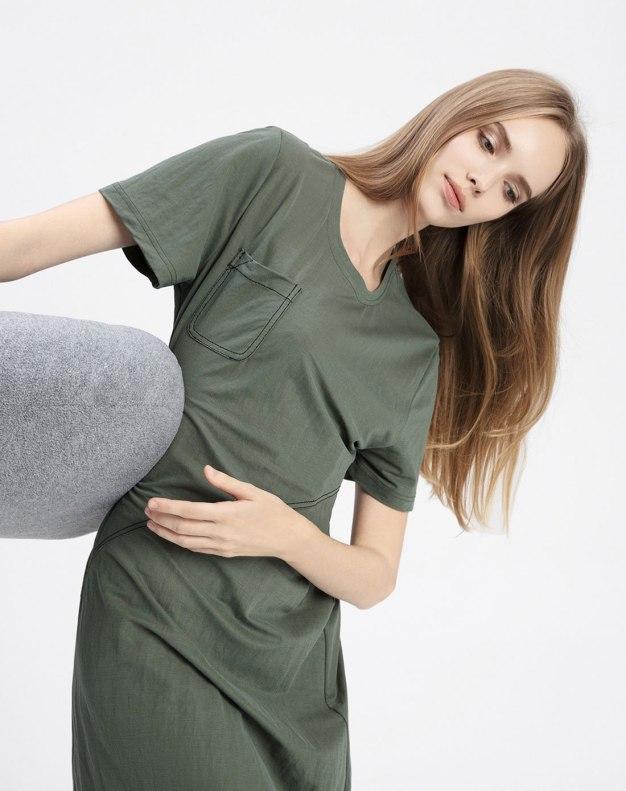 Polyamide Short Sleeve Standard Women's Sleepwear