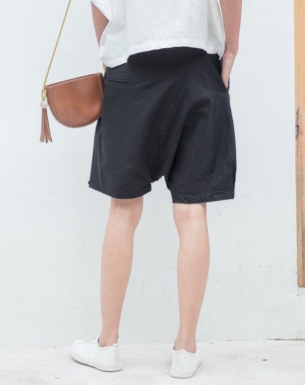 Black CroppedPants Women's Pants