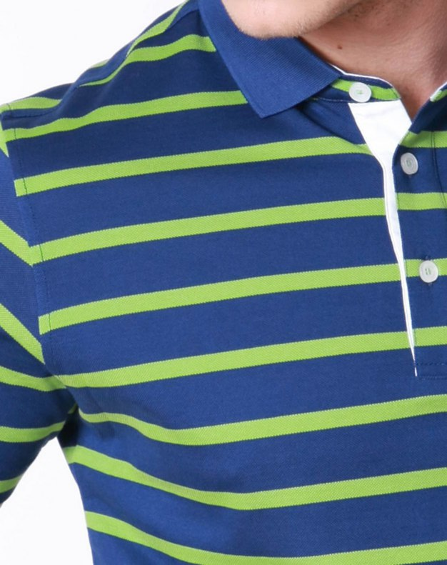 Green Stripes Short Sleeve Standard Men's T-Shirt