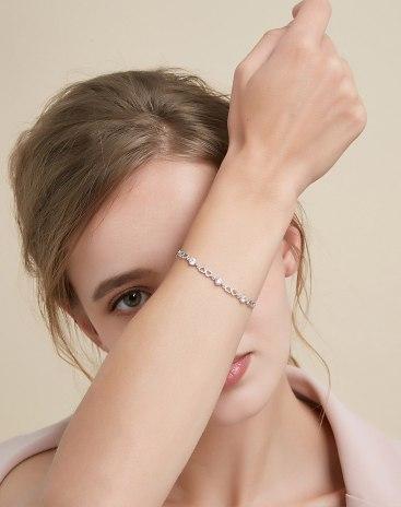 Silver Sweetheart Bracelet