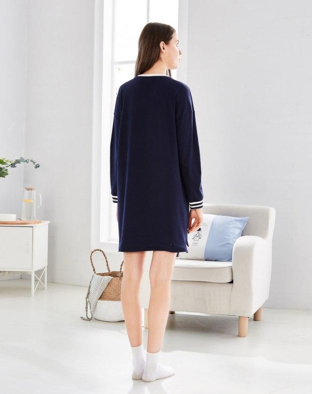 블루 여성 잠옷