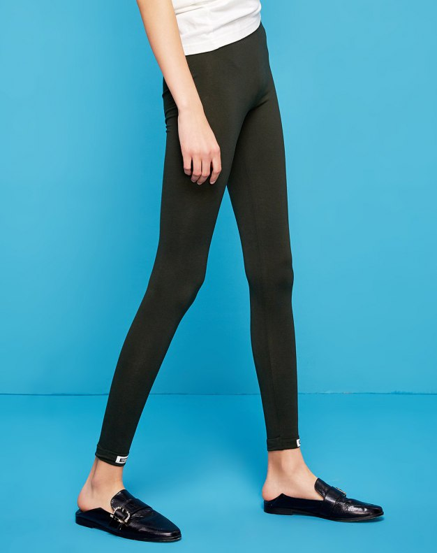Green Light Elastic Women's Leggings