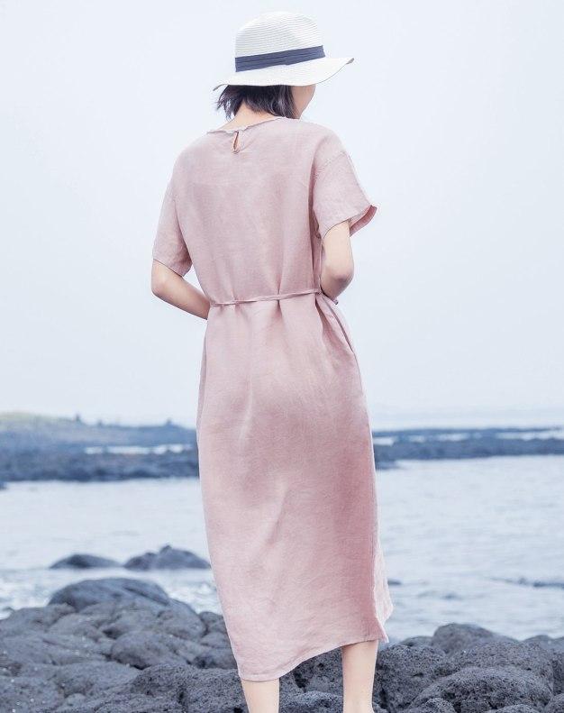 Pink Women's Dress