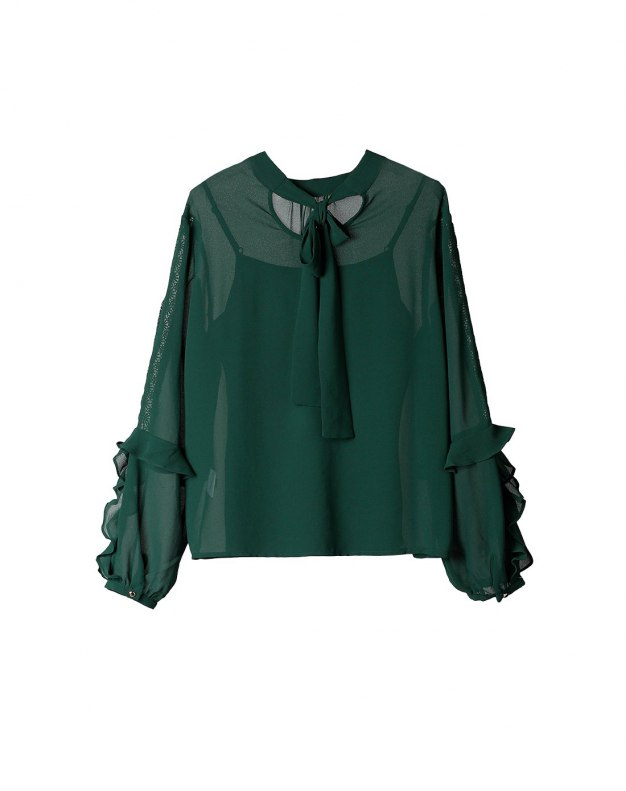 Green Women's Shirt