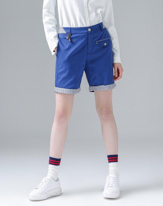 Blue Short Women's Pants