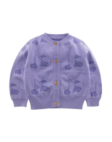 Purple Girls' Sweater