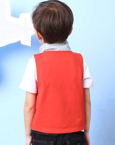 Красный жилет для мальчиков