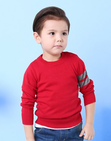 Red Boys' Sweater