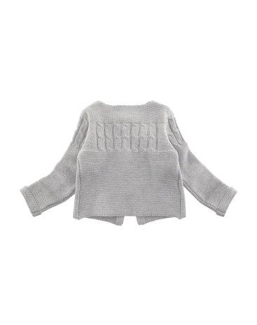 Gray Girls' Sweater