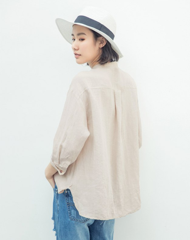 Beige Women's Shirt
