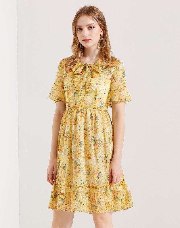 Yellow Women's Dress