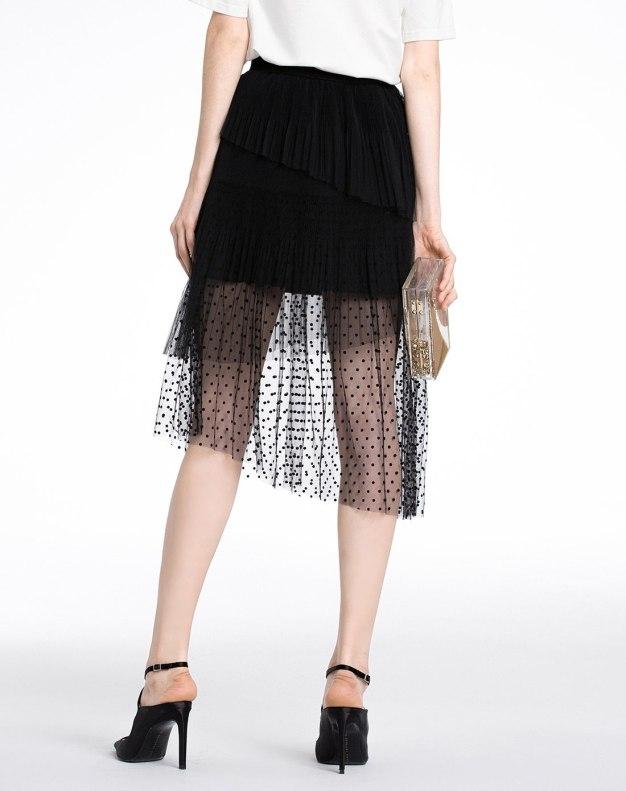 Black Women's Skirt