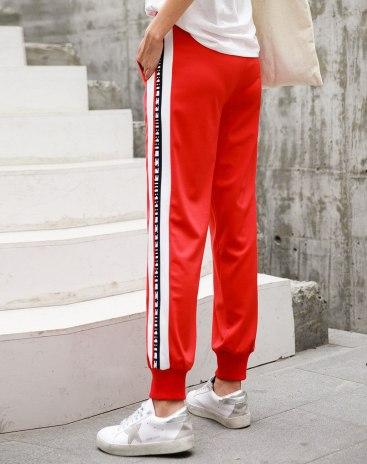 Red Women's Pants