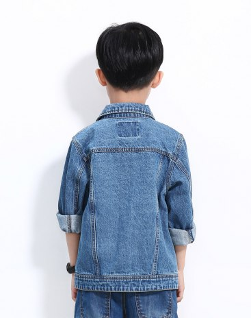 Blue Boys' Outerwear