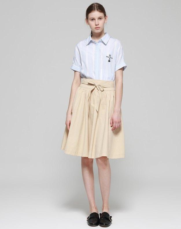 3/4 Length Women's A Line Skirt