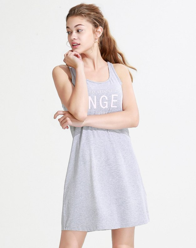 Cotton Sleeveless Thin Women's Sleepwear
