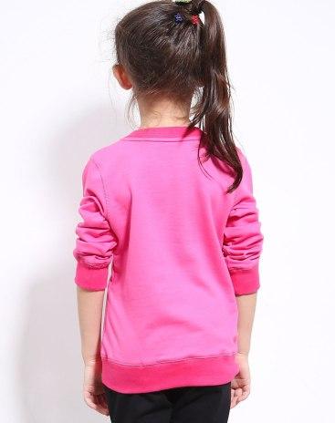 Pink Girls' Sweatshirt