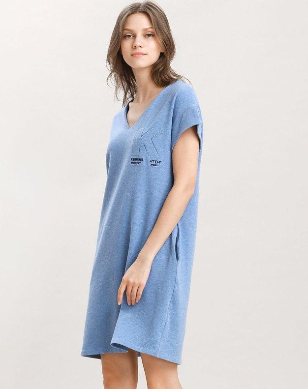 Others2 코튼 반팔 티셔츠 여성 잠옷