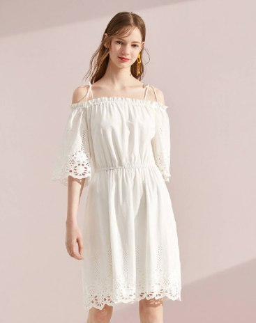 White Standard Women's Dress