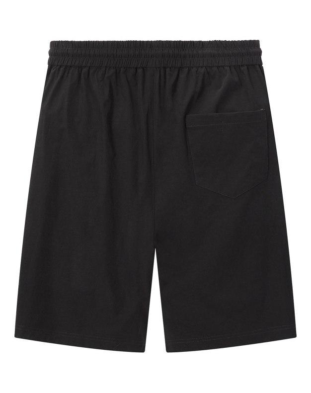 Black Badge Light Elastic Loose CroppedPants Men's Pants