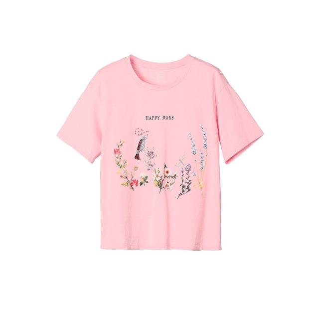 Pink Women's T-Shirt