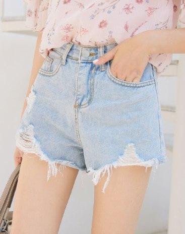 Blue High Waist Women's Jeans