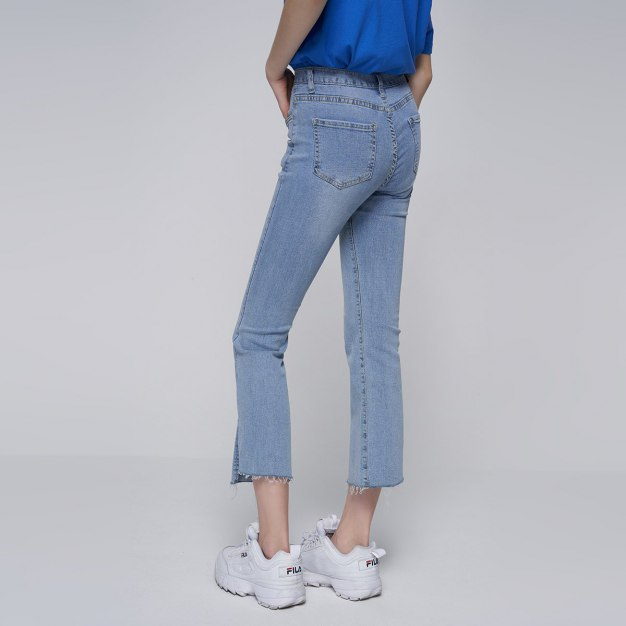 Blue Washed Women's Jeans