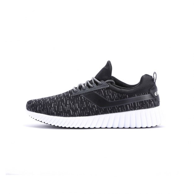 Black Wear-Resistant Outdoor Men's Sneakers