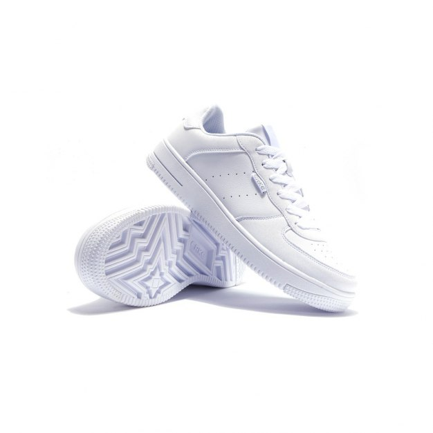 White Warm Office Men's Sneakers