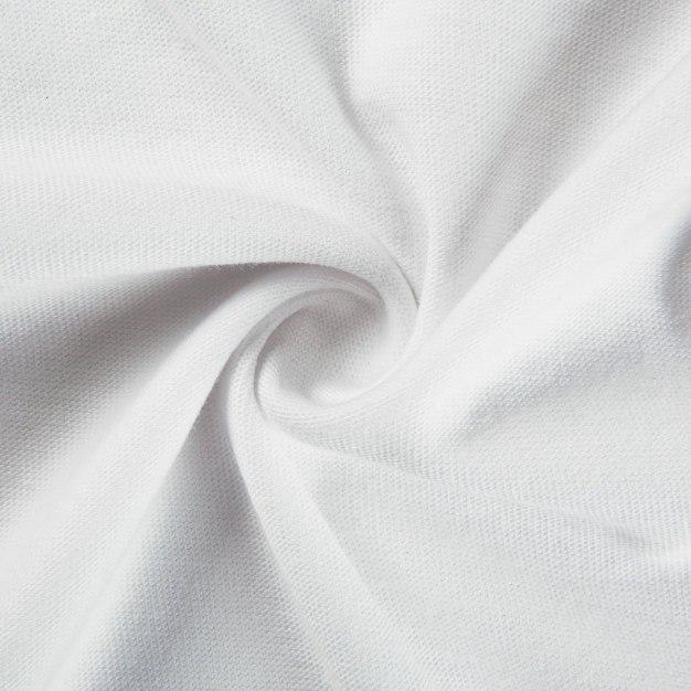 White Round Neck Standard Girls' T-Shirt