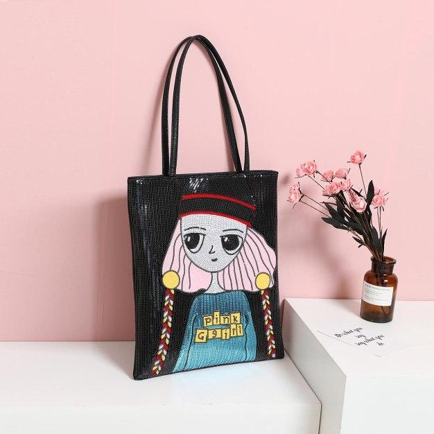 Pvc Tote Bag Big Women's Shoulder Bag