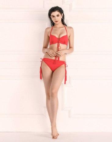 Red Women's Bikini