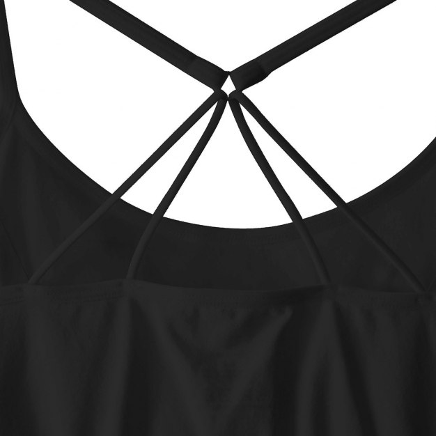 Black Fitted Women's Cami
