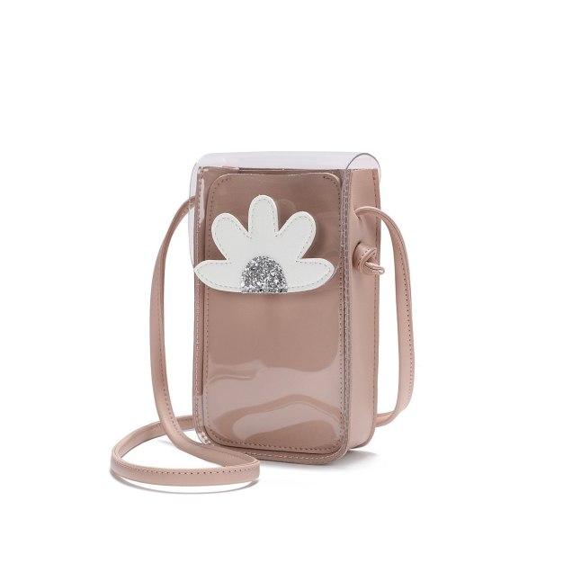Pink Women's Crossbody Bag