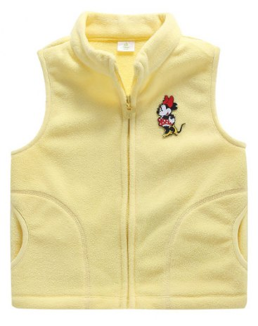 Others4 Polyester One-Piece Sleeveless Zipper Fly Baby's Outerwear