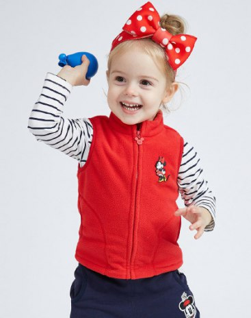 Others2 Polyester One-Piece Sleeveless Zipper Fly Baby's Outerwear