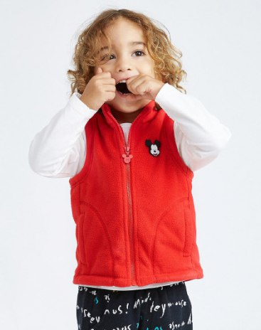 Others3 Polyester One-Piece Sleeveless Zipper Fly Baby's Outerwear