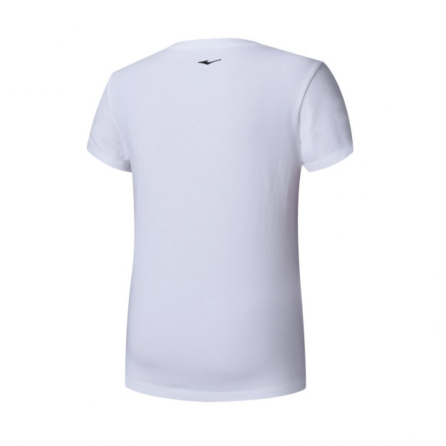White Short Sleeve Quick Drying Fitted Women's T-Shirt