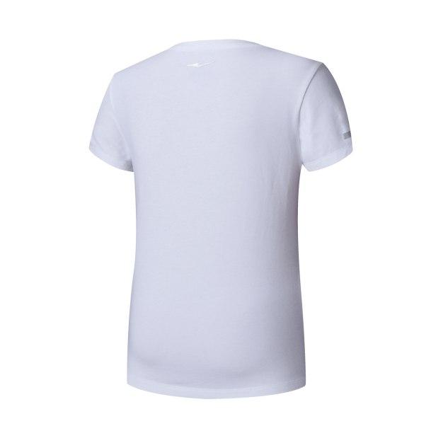 White Short Sleeve Quick Drying Tight Women's T-Shirt