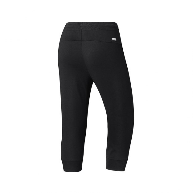 Black 3/4 Length Women's Pants